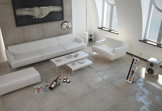 Piastrelle effetto pietra per bagno alternabito