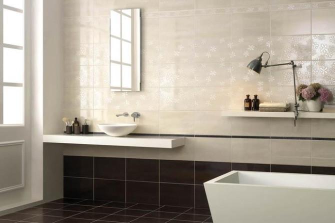 Idee per rivestimenti bagni moderni idee per il design della casa - Rivestimento bagno moderno ...