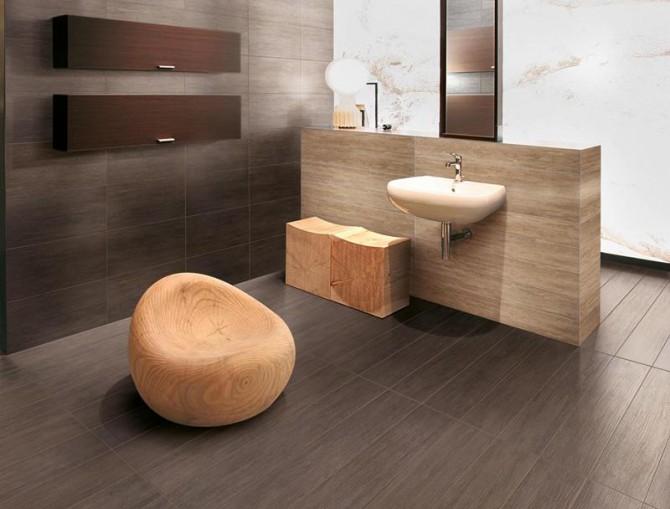 Vendita gres porcellanato effetto legno ceramica sassuolo - Bagno finto legno ...