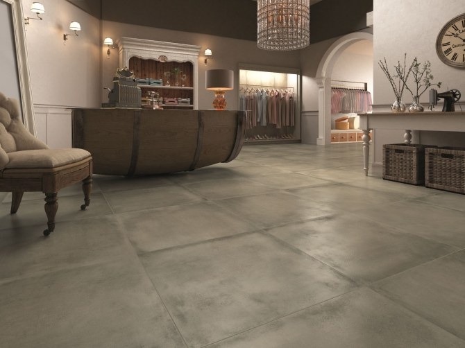 Gres porcellanato effetto cemento prezzi